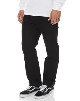 BLACK ON BLACK MENS CLOTHING VOLCOM JEANS - A1931506BKB