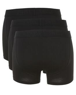 BLACK MENS CLOTHING SWELL SOCKS + UNDERWEAR - S5164421BLK