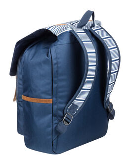 MOOD INDIGO STRIPE WOMENS ACCESSORIES ROXY BAGS + BACKPACKS - ERJBP04039-BSP3