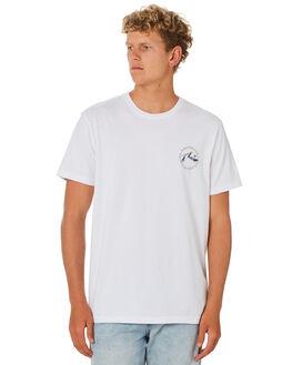 WHITE MENS CLOTHING RUSTY TEES - TTM2391WHT