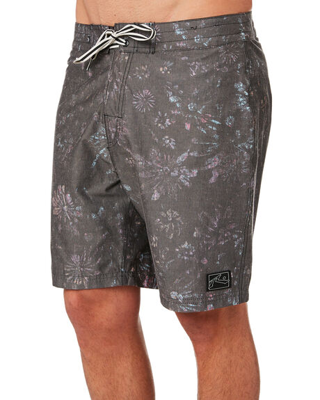 BLACK MENS CLOTHING RUSTY BOARDSHORTS - BSM1374BLK