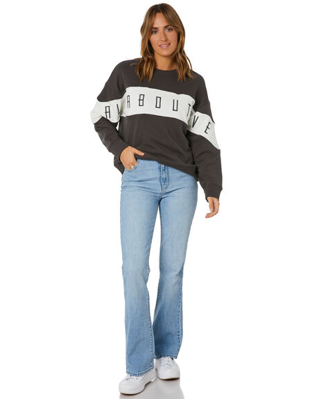 CHARCOAL WOMENS CLOTHING ALL ABOUT EVE HOODIES + SWEATS - 6473061CHAR
