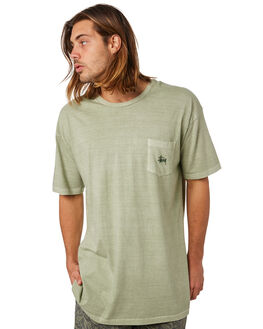 SEAGRASS MENS CLOTHING STUSSY TEES - ST082001SEAGR