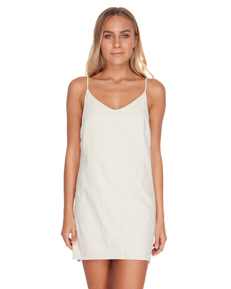 WHITE SWAN WOMENS CLOTHING BILLABONG DRESSES - BB-6572476-WHS