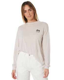 WARM SAND WOMENS CLOTHING STUSSY TEES - ST191009MUL