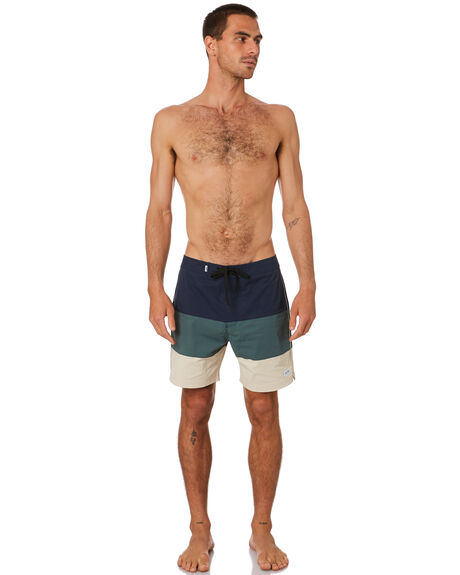DIRTY DENIM MENS CLOTHING BANKS BOARDSHORTS - BS0240DDN