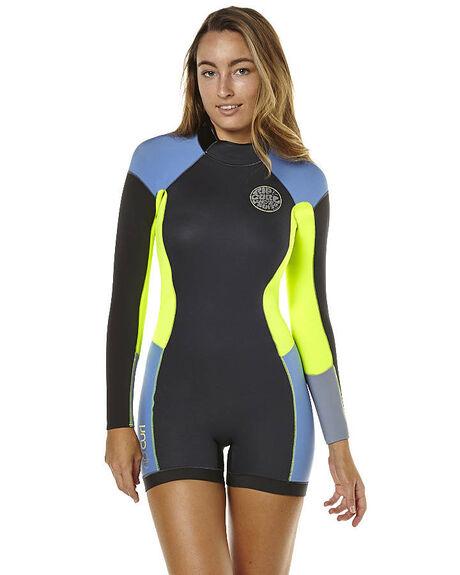 Rip Curl Dawn Patrol 2Mm Ls Springsuit Wetsuit - Blue  d4d601a92