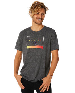 BLACK HEATHER MENS CLOTHING HURLEY TEES - AO8833032