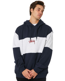 NAVY MENS CLOTHING STUSSY JUMPERS - ST097210NAVY