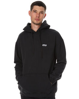 PIGMEENT BLACK MENS CLOTHING STUSSY JUMPERS - ST076200PBLK