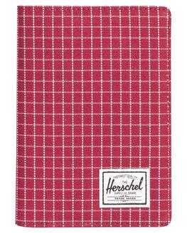 WINDSOR WINE GRID WOMENS ACCESSORIES HERSCHEL SUPPLY CO PURSES + WALLETS - 10373-01640-OSWINGR
