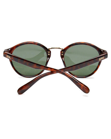 POLISHED TORT MENS ACCESSORIES LOCAL SUPPLY SUNGLASSES - LAXPTRT