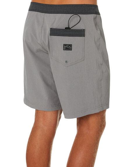 STONE GREY MENS CLOTHING RUSTY BOARDSHORTS - BSM1169SOG