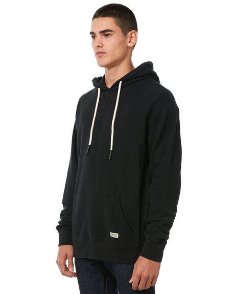 BLACK MENS CLOTHING ACADEMY BRAND JUMPERS - 18W504BLK