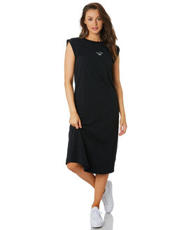 BLACK WOMENS CLOTHING C&M CAMILLA AND MARC DRESSES - VCMD1608BLK