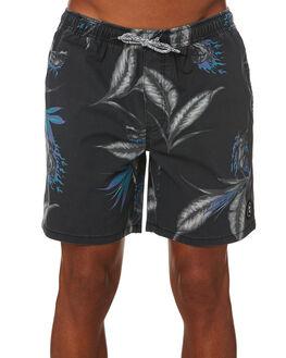NOIR MENS CLOTHING GLOBE BOARDSHORTS - GB01928000NOIR