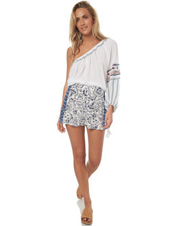 FLORAL WOMENS CLOTHING TIGERLILY SHORTS - T372300FLO