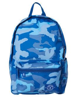 WOODLAND CAMO BLUE KIDS BOYS PARKLAND BAGS + BACKPACKS - 20020-00266
