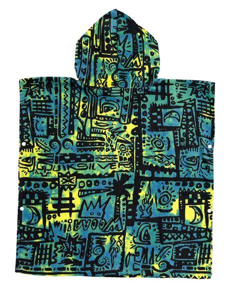 MARINE BLUE KIDS BOYS QUIKSILVER TOWELS - AQKAA03004-BSN6