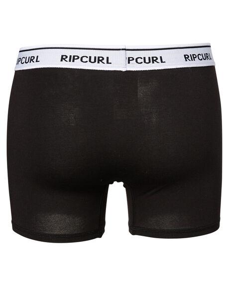 BLACK MENS CLOTHING RIP CURL SOCKS + UNDERWEAR - CUWAN10090