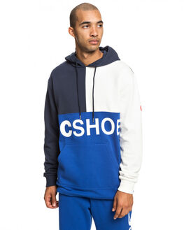 NAUTICAL BLUE MENS CLOTHING DC SHOES JUMPERS - EDYFT03423-BQR0