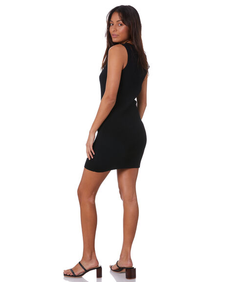 BLACK WOMENS CLOTHING SNDYS DRESSES - SED330BLK