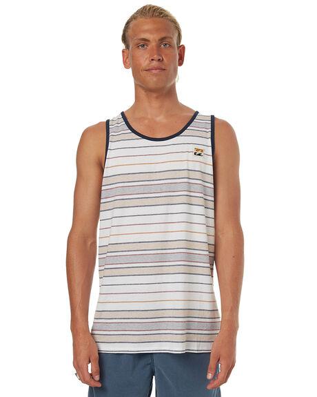 WHITE MENS CLOTHING BILLABONG SINGLETS - 9572507WHT