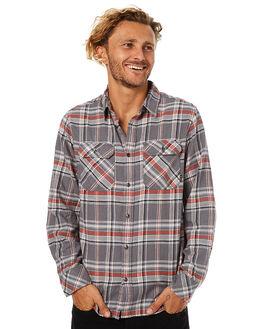MONUMENT PLAID MENS CLOTHING BURTON SHIRTS - 140531020