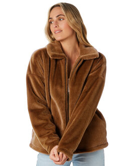 CARAMEL WOMENS CLOTHING O'NEILL JACKETS - HO9402011CML