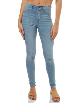 STONE BLEACH WOMENS CLOTHING CHEAP MONDAY JEANS - 0279462STONE