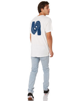 WHITE MENS CLOTHING MOLLUSK TEES - MS1729WHT
