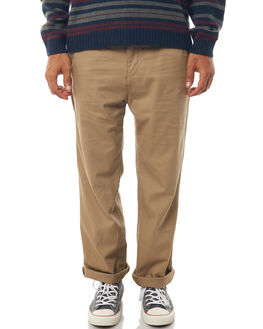 KHAKI MENS CLOTHING RUSTY PANTS - PAM0950KHA