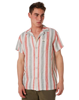 JOSE STRIPE MENS CLOTHING DEUS EX MACHINA SHIRTS - DMS85648JOSE