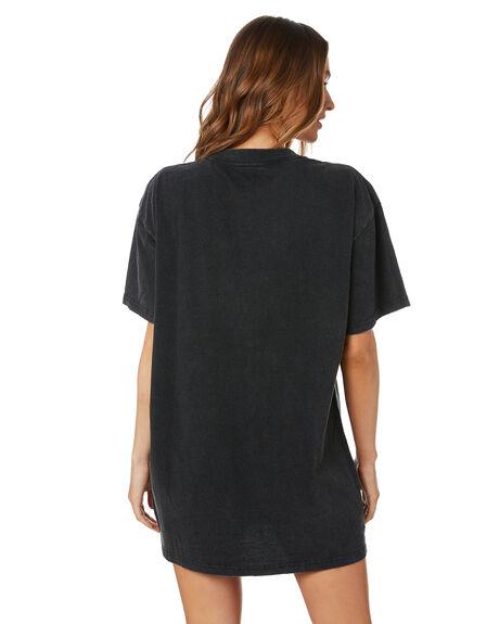 VINTAGE BLACK WOMENS CLOTHING UNIVERSAL DRESSES - STONES653VBLK