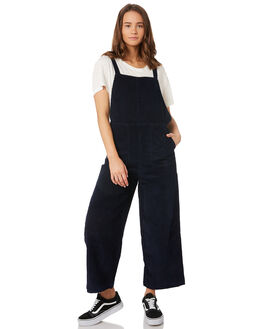 NAVY MARINE WOMENS CLOTHING RVCA PLAYSUITS + OVERALLS - R293756NAV