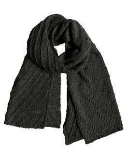 CHARCOAL HEATHER WOMENS ACCESSORIES ROXY SCARVES + GLOVES - ERJAA03567-KTAH