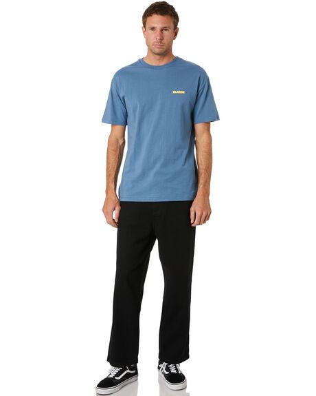LIGHT BLUE YELLOW MENS CLOTHING XLARGE TEES - XL002001LBLYL