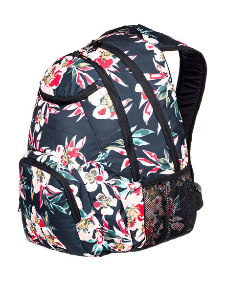 ANTHRACITE WOMENS ACCESSORIES ROXY BAGS + BACKPACKS - ERJBP04157-XKMR