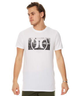 WHITE MENS CLOTHING HURLEY TEES - AMTSFLDF10A