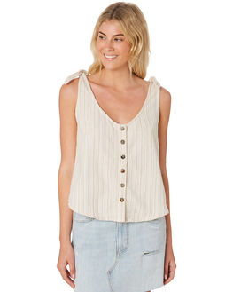 STRIPE TEXTURE WOMENS CLOTHING SAINT HELENA FASHION TOPS - SHS19103STRT