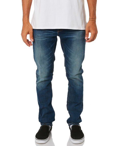 INDIGO SHADES MENS CLOTHING NUDIE JEANS CO JEANS - 113088INDSH