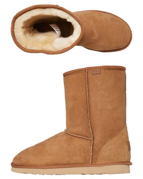 CHESTNUT WOMENS FOOTWEAR RIP CURL UGG BOOTS - SSTUCAF35101W