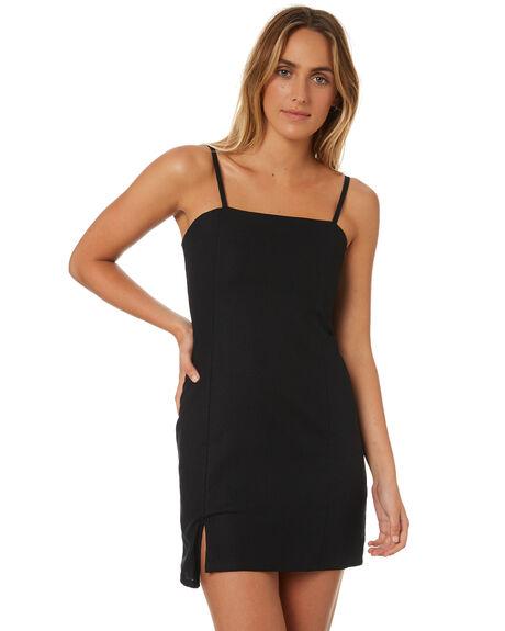 BLACK WOMENS CLOTHING MINKPINK DRESSES - MP1806550BLACK