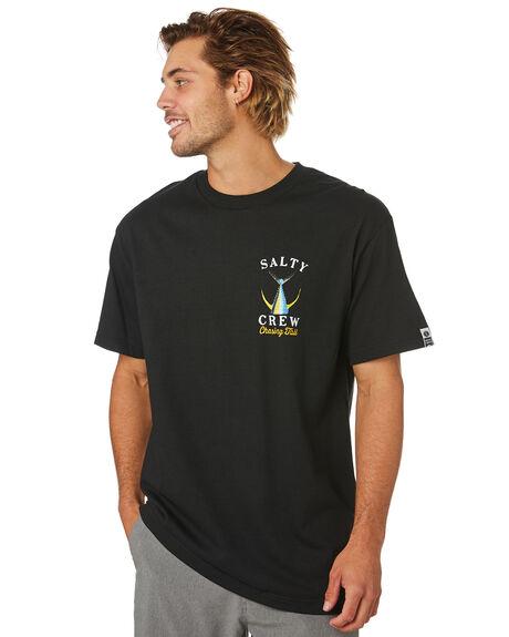 BLACK MENS CLOTHING SALTY CREW TEES - 20035092BLK