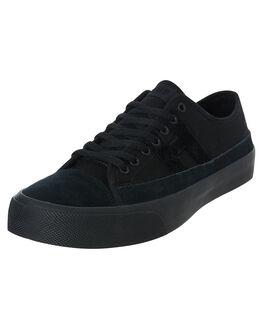 BLACK MENS FOOTWEAR HUF SNEAKERS - VC00104-BLACK