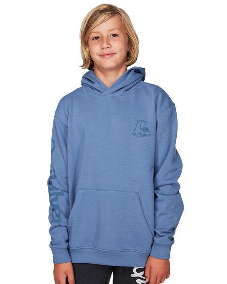STONE WASH KIDS BOYS QUIKSILVER JUMPERS + JACKETS - EQBFT03517-BKJ0