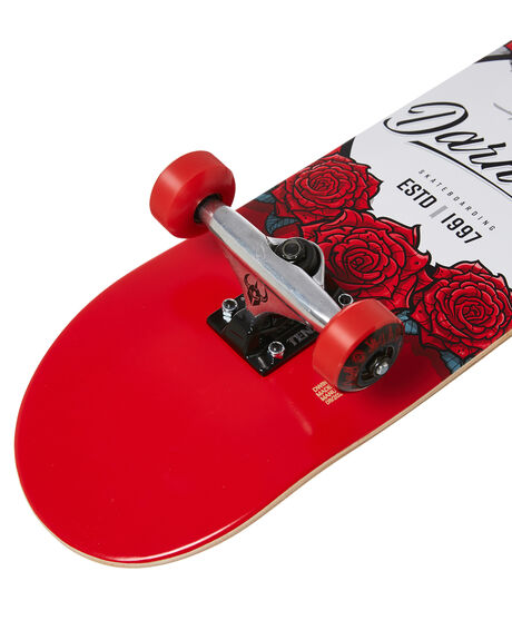 RED BOARDSPORTS SKATE DARKSTAR COMPLETES - 10512307YRED