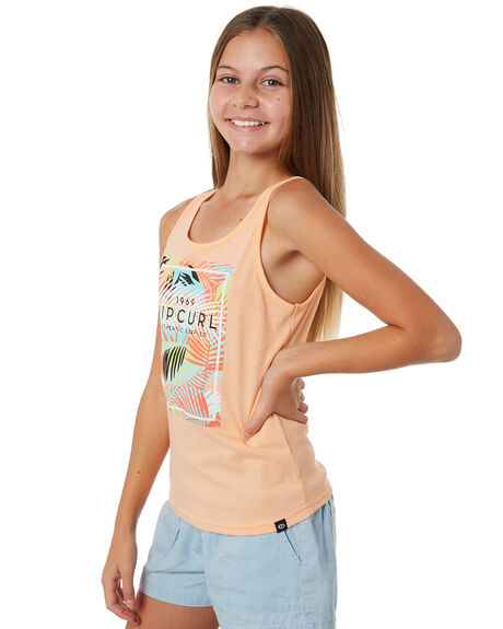 PEACH KIDS GIRLS RIP CURL TOPS - JTEDM10165