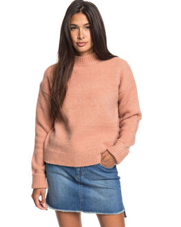 CAFE CREME WOMENS CLOTHING ROXY KNITS + CARDIGANS - ERJSW03388-TJB0