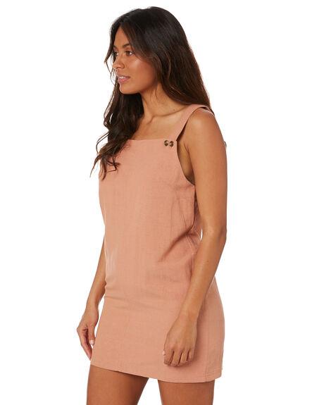 ASH PINK WOMENS CLOTHING RUSTY DRESSES - DRL1066APK